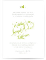 Heartthrob Wedding Invitations