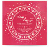 Indian Unity Wedding Invitations