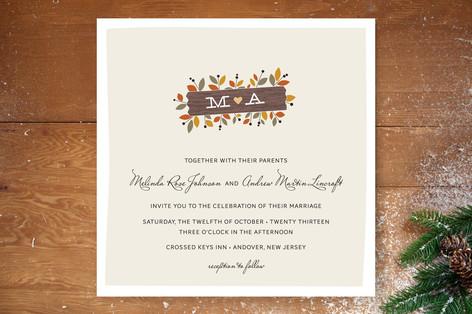 Meadow Wedding Invitations