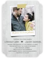 Polaroid Perfection Wedding Invitations