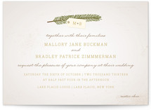 Evergreen Wedding Invitations