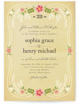 Wisteria Wedding Invitations