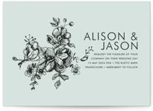 Elegance Illustrated Wedding Invitations