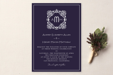 Eventide Wedding Invitations