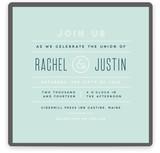 Calendar Finish Wedding Invitations