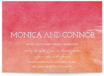 Watercolor Sky Wedding Invitations