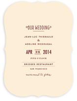 Pesto Classico Wedding Invitations