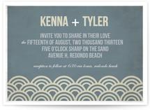 Beach Bums Wedding Invitations