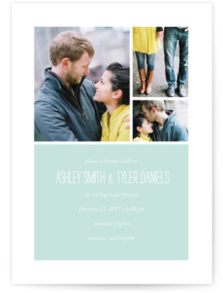 Forever Wedding Invitations