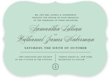 Notable Wedding Invitations