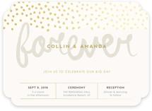 Forever At Last Wedding Invitations