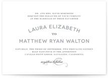 Champagne Toast Wedding Invitations