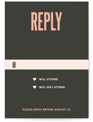 In Love Wedding Invitations