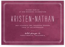 Horizon Wedding Invitations