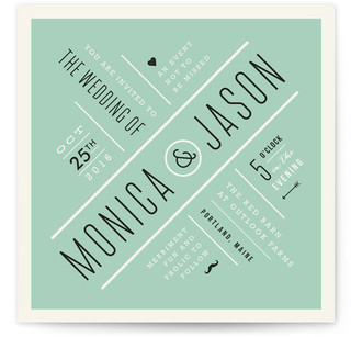 Divergence Wedding Invitations