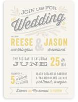 Rustic Charm Wedding Invitations