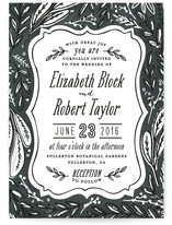 Herb Garden Wedding Invitations