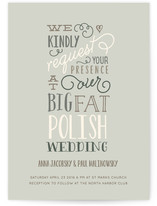 Our Big Wedding