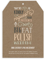 Our Big Wedding Wedding Invitations