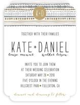 Whimsy Stripe Wedding Invitations