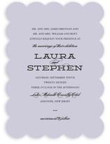 Mod Elegance Wedding Invitations