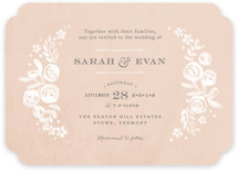 Sun Bleached Florals Wedding Invitations
