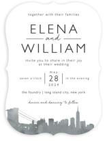 Skyline-New York Wedding Invitations