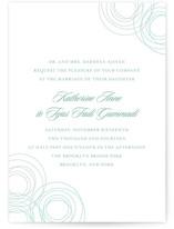 Circles of Love Wedding Invitations