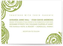 Contemporary Chic Wedding Invitations