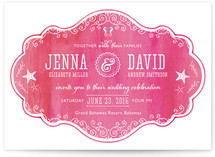 Splash of Paradise Wedding Invitations