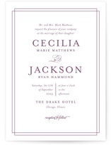 Chic Gala Wedding Invitations