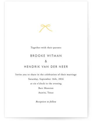 Sweet Boutique Wedding Invitations