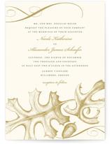 Autumnal Leaf Wedding Invitations
