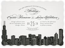 Big City - Chicago Wedding Invitations