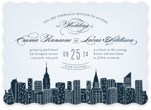 Big City- New York City Wedding Invitations