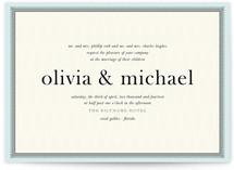 float + framed Wedding Invitations