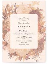 Floral Feast Wedding Invitations