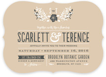 Jardin Nocturne Wedding Invitations