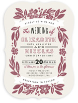 Painted Meadow Wedding Invitations