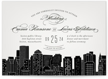 Big City- Boston Wedding Invitations