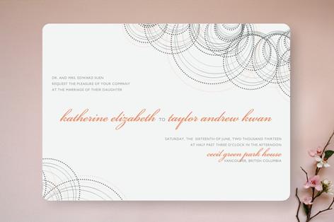 Intricate Wedding Invitations
