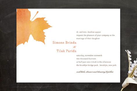 Waterfall Wedding Invitations