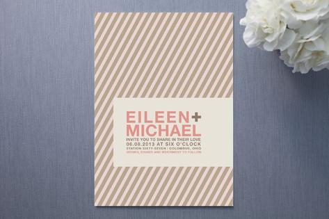 Mod Love Wedding Invitations