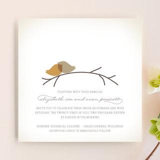 Nestled Wedding Invitations