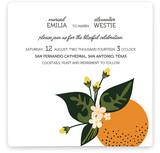 Citrus Crush Wedding Invitations