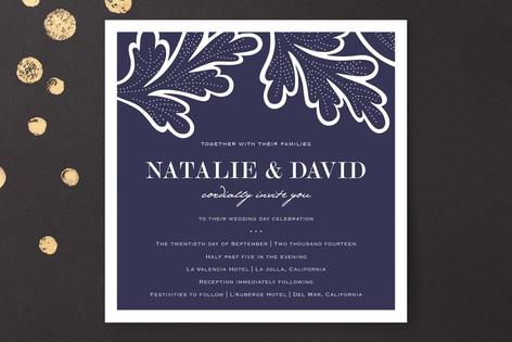 Indigo Evening Wedding Invitations