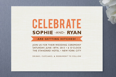 Country Flair Wedding Invitations