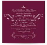 Ornate Love Wedding Invitations