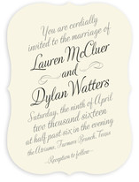 Just My Type Wedding Invitations
