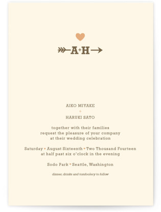 Love Struck Wedding Invitations